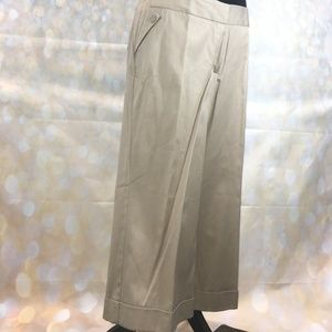 Worthington Cropped  Trousers - Curvy Fit